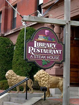 fine dining at library restaurant in portsmouth nh